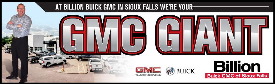 Sioux falls gmc buick kia billion auto for Billion motors sioux falls