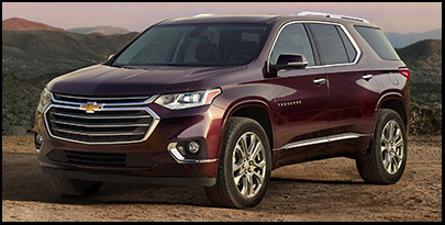 New 2019 Chevy Traverse