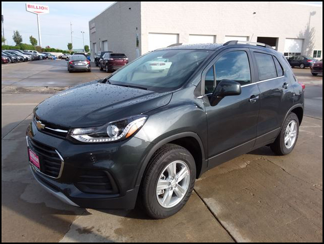New 2019 Chevy Trax