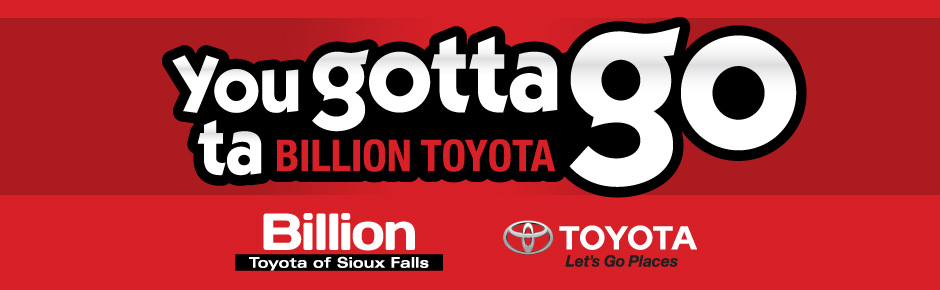 Billion Auto Sioux Falls >> Sioux Falls Toyota Billion Auto