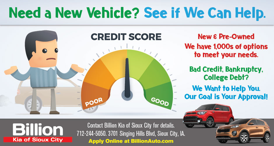Sioux City Kia Bad Credit