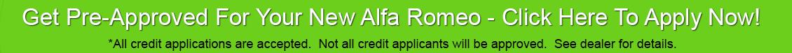 Alfa Romeo car loans