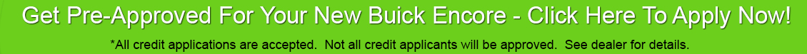 Buick Encore Car Loan