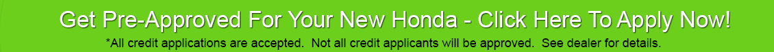 Iowa City Honda car loans