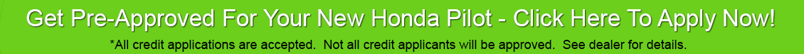 Honda Pilot Car Loan
