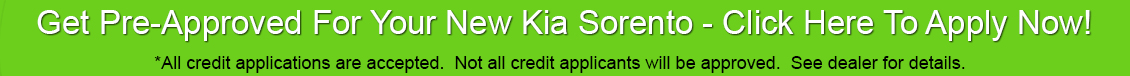 Kia Sorento Car Loan