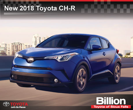 Billion Auto Sioux Falls >> 2018 Toyota C Hr Billion Auto