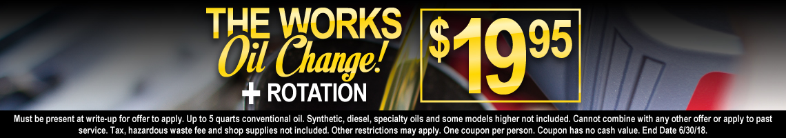 BFCL-18-W70_May_Oil_Change_Special_051618
