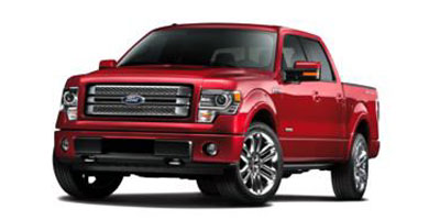 New 2013 Ford F-150 Platinum Truck