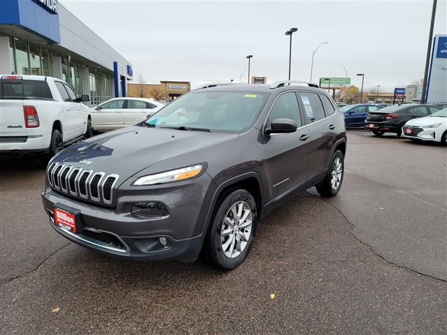 New 2018 Jeep Cherokee Limited SUV