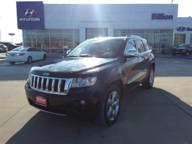 2013 Jeep Grand Cherokee Overland >> Used 2013 Jeep Grand Cherokee Overland