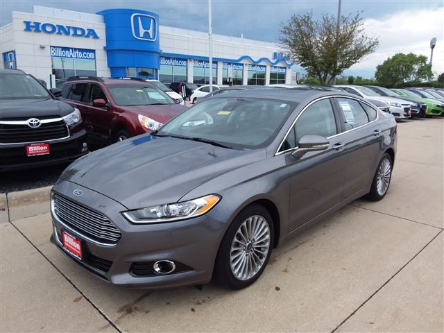 2014 Ford Fusion For Sale >> Used 2014 Ford Fusion Titanium