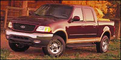 Used 2001 Ford F-150 SuperCrew King Ranch Truck
