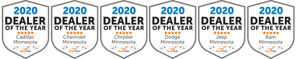 Ryan Auto Mall Dealer of the Year