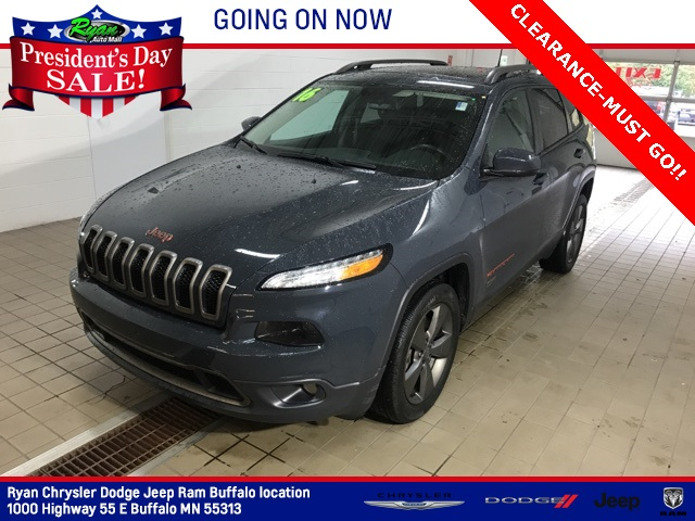 Used 2016 Jeep Cherokee 75th Anniversary Edition