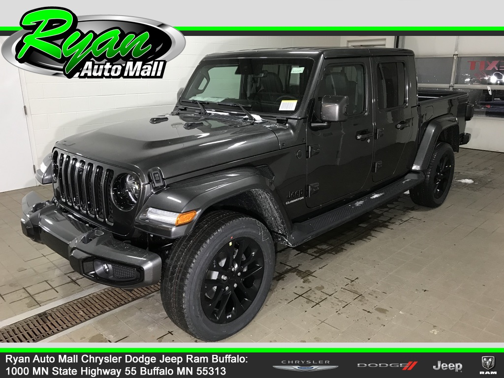 New 2021 Jeep Gladiator High Altitude Crew Cab