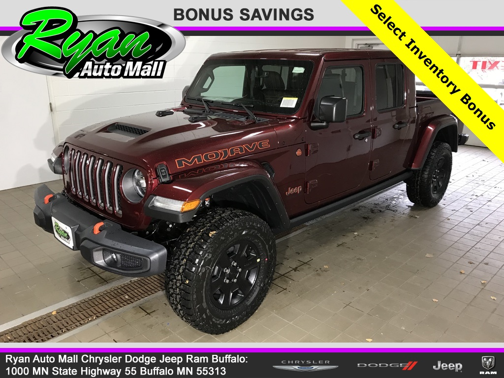 New 2021 Jeep Gladiator Mojave Crew Cab