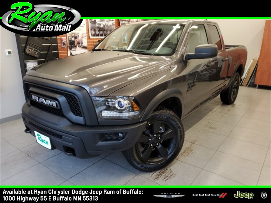 "New 2020 Ram 1500 Classic Warlock 6'4"" Box Extended Cab"