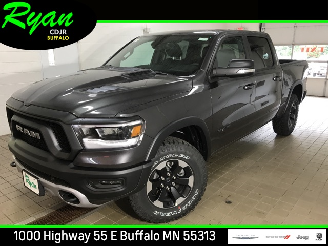 New 2019 Ram 1500 Rebel Crew Cab