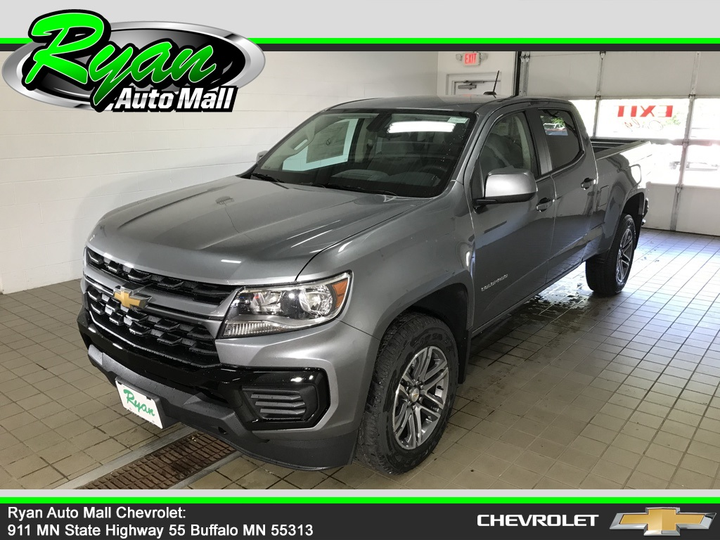 New 2021 Chevrolet Colorado Work Truck Long Box Crew Cab