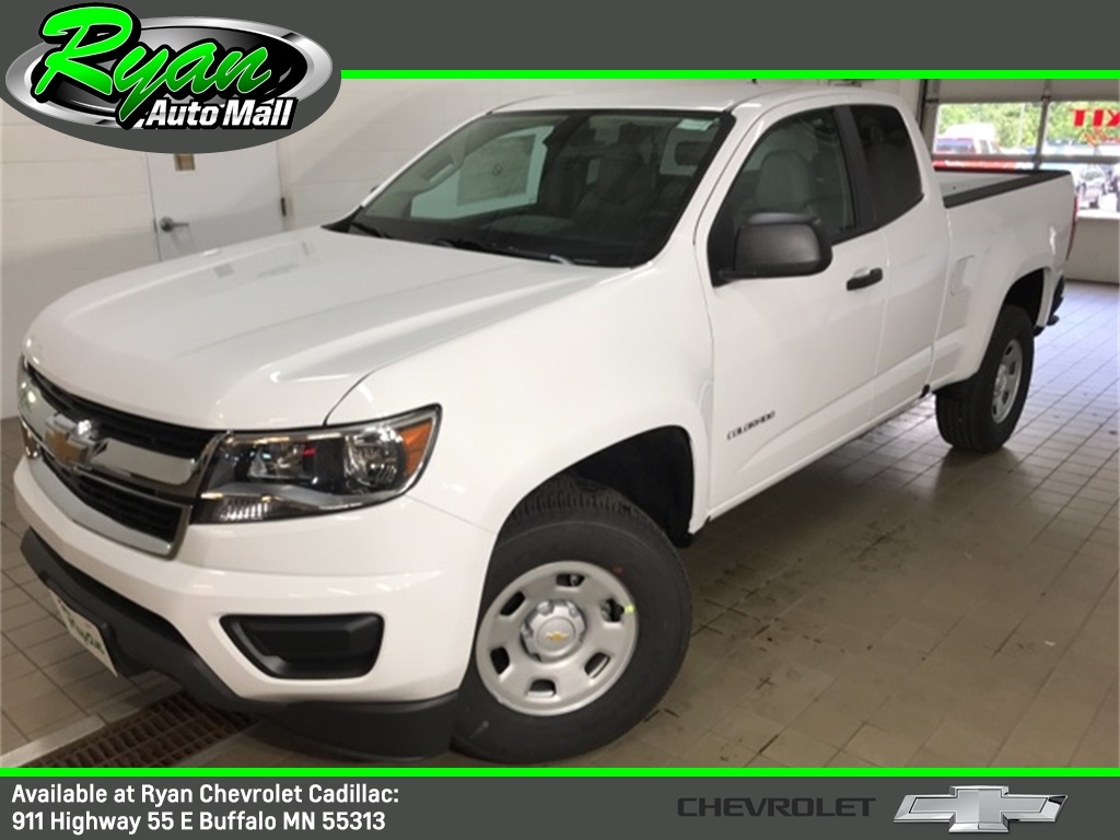 New 2020 Chevrolet Colorado Work Truck Long Box Extended Cab