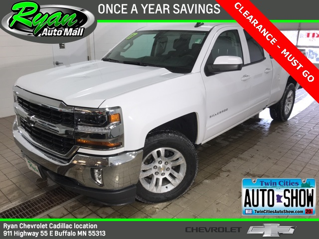 "Used 2017 Chevrolet Silverado 1500 LT 6'6"" Box Double Cab"