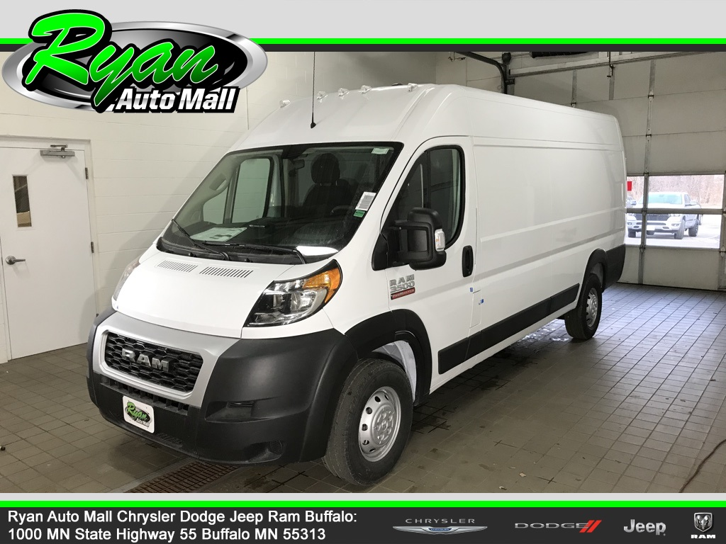 New 2021 Ram ProMaster 3500 High Roof 3D Extended Cargo Van